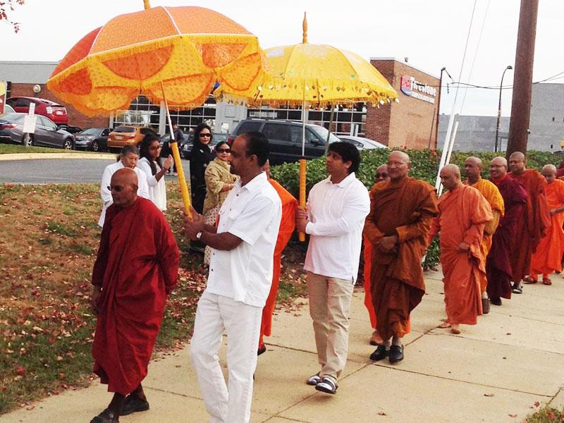 Buddhist Monastery Great Katina Ceremony
